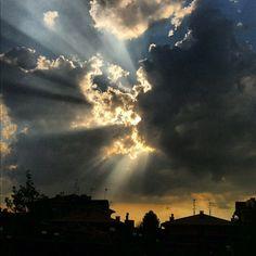 Morning sky above Ferrara - Instagram di @fedeclick