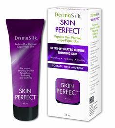 Dermasilk Skin Perfect - Anti Aging Moisturizer Cream Diminishes Wrinkles on Face, Neck & Body oz Neck Cream, Face Wrinkles, Face Treatment, Anti Aging Moisturizer, Sagging Skin, Wrinkle Remover, Perfect Skin, Hair Care Tips, Natural Oils