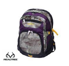 #New Realtree Max-1 Camo 14-in. Purple Laptop Backpack  #Realtreecamo