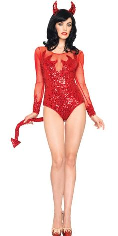 Rockin Red Devil Costume for Adults - Party City