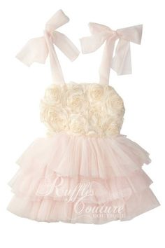 Gioia Rose dress $35 shipping included Visit us @ www.facebook.com/rufflescouturexo to order or email us @ rufflescouture@gmail.com