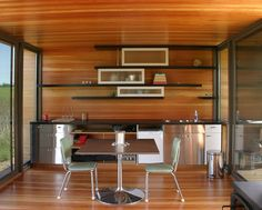 Construire une maison minimaliste : la weeHouse Arado - Photo detail: Construire une maison minimaliste . Lisez en plus sur Logic-Immo.be !