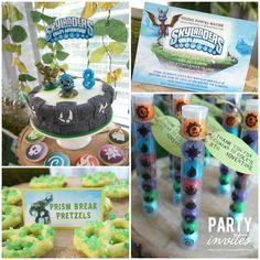 Skylanders Birthday Personalized PARTY PACAKGE