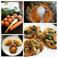 paleo placki warzywne bez maki Maki, Paleo, Eggs, Breakfast, Food, Morning Coffee, Essen, Beach Wrap, Egg