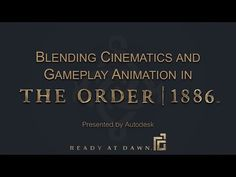 [GDC 2015] Animation of The Order: 1886 - YouTube