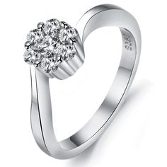 Aliexpress.com : Buy 30656 Finenes New Design Diamante Platinum Plated Ring Free Shipping DJ921 from Reliable free phone free shipping suppliers on Guangzhou Clio Jewelry Co., Ltd. $6.59