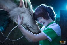 13 of the Best Studio Ghibli Cosplays Ever: Spirited Away Sen Cosplay and CGI Haku