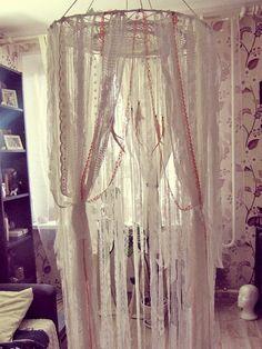 Custom Design Bed Canopy Gypsy Bed Crown Boho Nursery Crib
