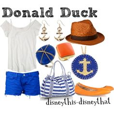 """Donald Duck"" by disneythis-disneythat on Polyvore"