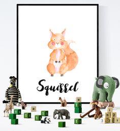Squirrel Printable Watercolour   https://www.vivabop.co.uk/products/squirrel-art-printable-watercolour