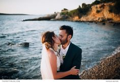 A destination wedding, filled with tradition and love, at their family's house in Greece. Greek Islands, Greece, Destination Wedding, Celebration, Couple Photos, House, Greek Isles, Greece Country, Couple Shots