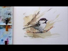 A Pen and Wash Watercolor tutorial of a Trail To the Lake. Very easy and fun to follow - YouTube