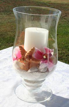 beach theme wedding | Wedding Centerpieces | Beach Wedding Table Decorations | Beach Theme ...