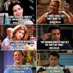 Trendy Quotes Funny Life Humor Friends 60 Ideas funny quotes funnyquoteslaughingsohard is part of Short funny quotes - Tv: Friends, Friends Tv Show, Serie Friends, Friends Tv Quotes, Friends Episodes, Friends Moments, Friends Cast, Funny Quotes About Life, Life Quotes