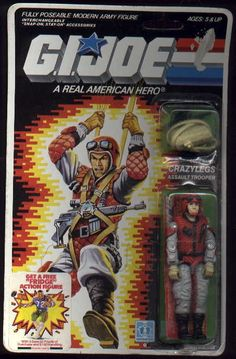 CRAZYLEGS (v1), YOJOE.COM | YoJoe.com: Dedicated to the G.I.Joe of the 80's, 90's and beyond!