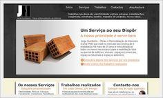 Website para Jorge Humberto Decorações e Arquitectura