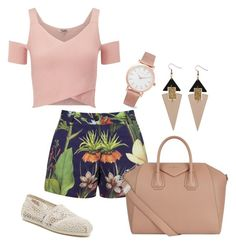 """""""Untitled #63"""" by qqueeen on Polyvore featuring Lipsy, Penfield, Givenchy, TOMS and Larsson & Jennings"""