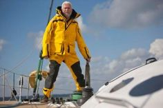 Sir Robin takes part in the 2014 Route du Rhum