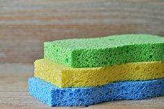 3 Quick Ways to Disinfect Your Kitchen Sponges! And remember, even when sponges are sanitized regularly, they should still be replaced every 30 days.