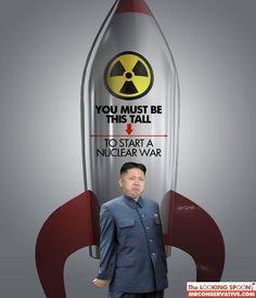 Kim Jung Un could become Kim Jong Ash.