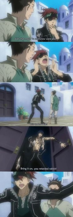 D.Gray-man ~~ How to get Kanda's attention...