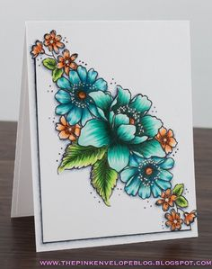 New Post!! Altenew - Garden Treasure + Copic Coloring