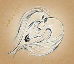 Arabian Horse jpg by Vidocq73.deviantart.com on @DeviantArt