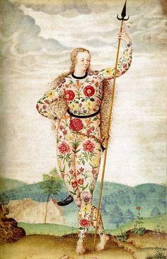 "Jacques Le Moyne de Morgues: ""Joven hija de los Pictos/Young Daughter of the Picts"", 1585"