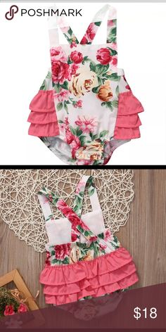 09e3d540d Baby Girl bubble romper summer clothes Perfect for summer One Pieces  Bodysuits Summer Clothes, Summer