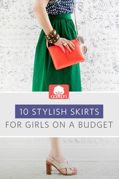 10 Stylish Skirts for Girls On A Budget!