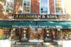 These 15 Charming General Stores In Vermont Will Make You Feel Nostalgic Woodstock Vt, New England Travel, Gillingham, Elm Street, General Store, Vermont, Sons, Places To Go, Things To Do
