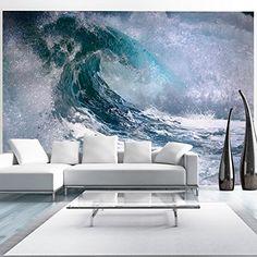 Fotomural decorativo de ola de mar - https://vinilos.info/producto/fotomural-decorativo-de-ola-de-mar/ Calidad HD, alta definición en fotomural   #HabitaciónJuvenil, #Oficina   #decoracion
