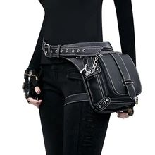 goth bag – Buy goth bag with free shipping on AliExpress Crossbody Messenger Bag, Leather Crossbody, Leather Handbags, Leather Bag, Thigh Bag, Leg Thigh, Travel Handbags, Cheap Bags, Vintage Bags