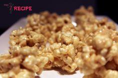 Boules de popcorn à la guimauve | Marshmallows popcorn balls - Miss-Recipe.com