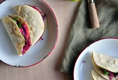 Garlic and Chipotle Beef Tacos with Slaw