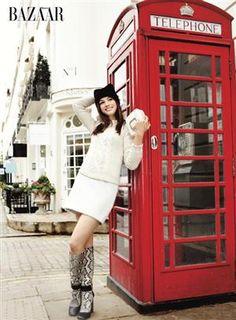 life aficionada:    Anne Hathaway . Alexi Lubomirski . Harper's...