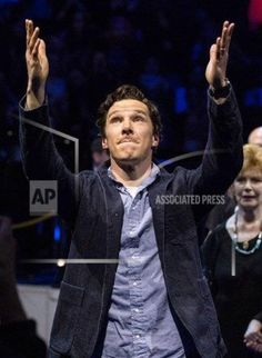 Benedict at Letters Live - 15th March 2016