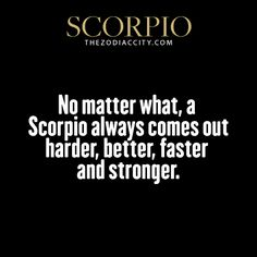 zodiaccity:  Zodiac Scorpio Facts. Get familiar with your zodiac sign here.