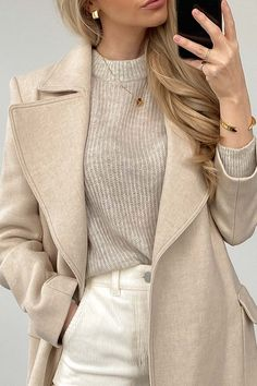 Winter Fashion Outfits, Fall Winter Outfits, Autumn Fashion, Fashion For Winter, Winter Ootd, Winter Clothes, Spring Outfits, Fashion Ideas, Classy Outfits