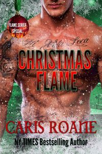 Christmas Flame (Flame #4) by @CarisRoane - #Novella, #Paranormal, #Romance, 4 out of 5 (very good)  (December)