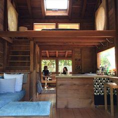 tiny house big sleeping area - Google Search