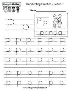 math worksheet : kindergarten letter m writing practice worksheet this series of  : Letter Writing Worksheets For Kindergarten