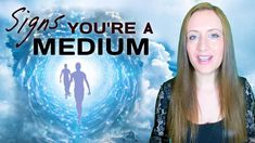 12 Signs You're a Psychic Medium and Should Practice Mediumship #spirituality #spiritual