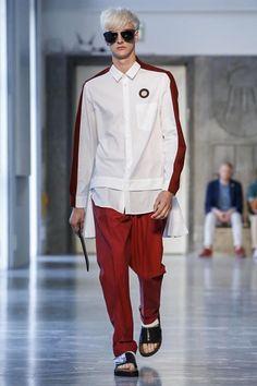 Andrea Pompilio Menswear Spring Summer 2015 Milan - BENJAMIN JARVIS