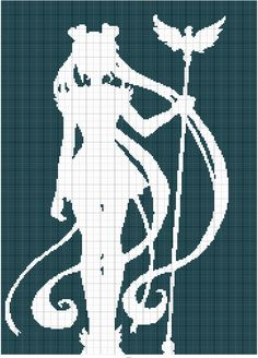 Sailor Moon silhouette