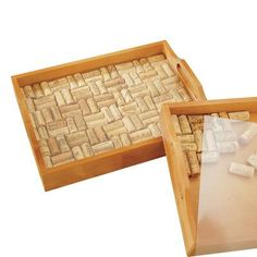 Wine Cork Serving Tray Kit *** More info could be found at the image url. (This is an affiliate link)