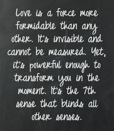 True Love quote....But, beware that infatuation morphed into an obsession does NOT equal True Love.