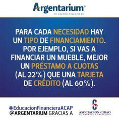 Necesidades de financiamiento | Argentarium