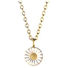 Daisy Gold Necklace, White, Georg Jensen : Denmark's Finest. My Grand mom rocked this since I was born and she's always worn it as one of her favorite pieces. Timeless beauty.....