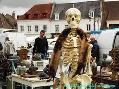 Annual Bastille Day Antiques Market at Montreuil-sur-Mer